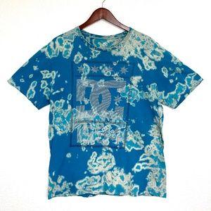 """DC Skateboards """"1994"""" T Shirt, Acid Wash Upcycle"""